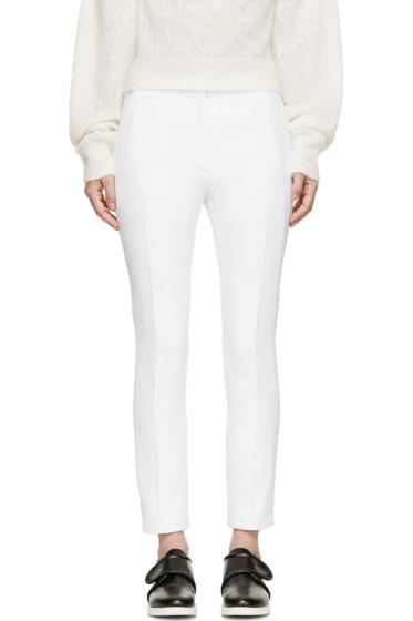 Acne Studios - White Elia Crepe Trousers