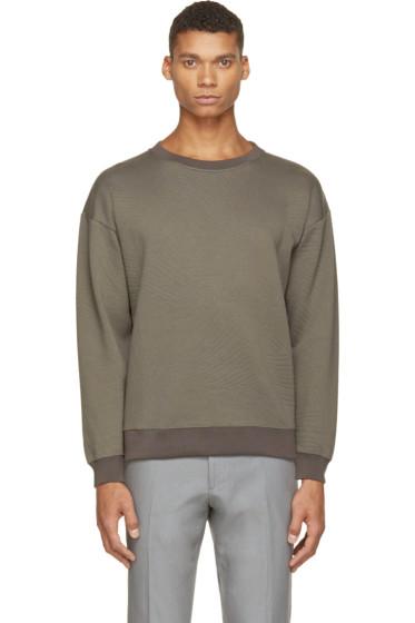 Christopher Kane - Grey Embossed Sweatshirt