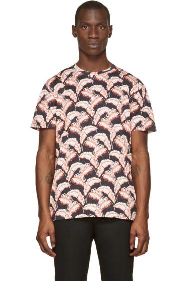 Marc Jacobs - Black & Red Palm Beach T-Shirt