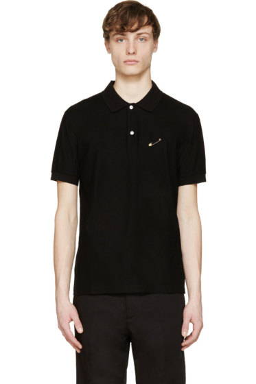 Marc Jacobs - Black Safety Pin Polo