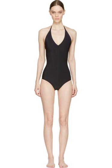 Rick Owens - Black Halter Swimsuit