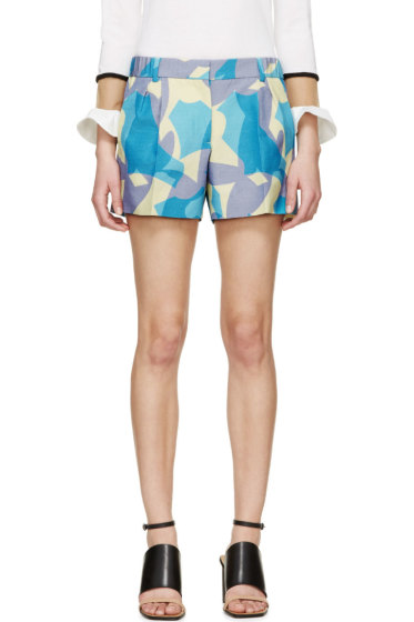 Viktor & Rolf - Lavender Printed Shorts
