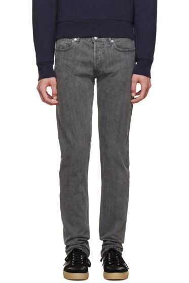 A.P.C. - Grey Petit Standard Jeans