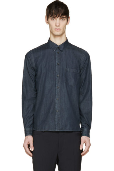 Lanvin - Indigo Denim Shirt