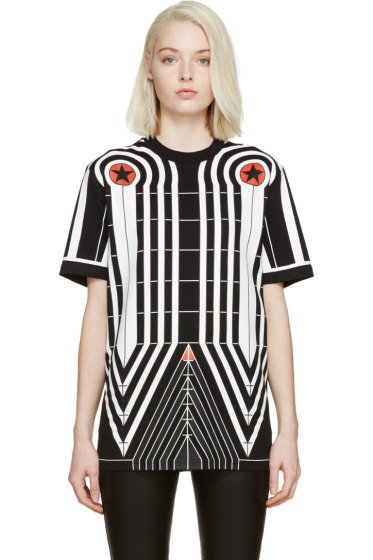 Givenchy - Black Stars & Stripes T-Shirt