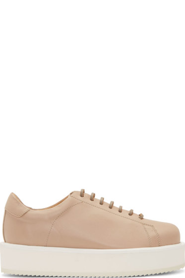 Silent by Damir Doma - Beige Fimis Plateau Sneakers