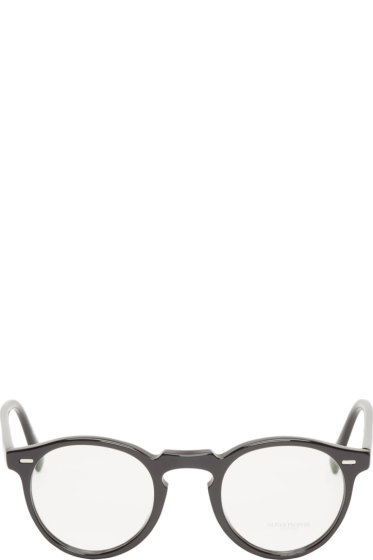 Oliver Peoples - Black Gregory Peck Optical Glasses