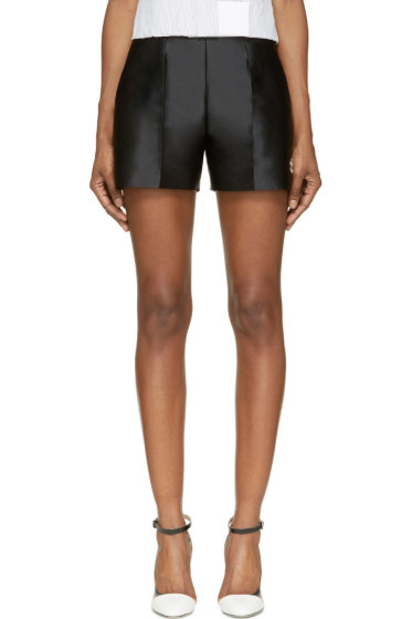 Moncler Gamme Rouge - Black High-waisted Shorts