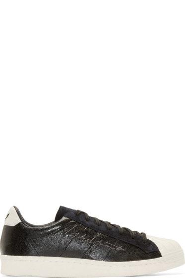 Yohji Yamamoto - Black adidas by Yohji Yamamoto Superstar Metallic Sneakers