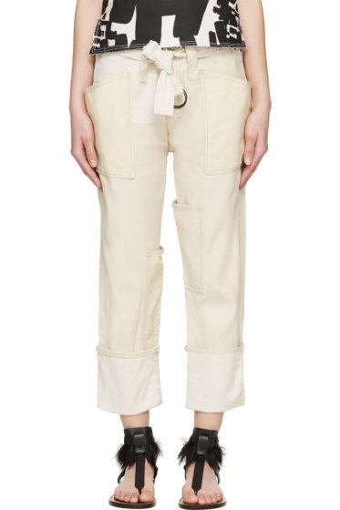 Isabel Marant - Ecru Linen Vega Trousers