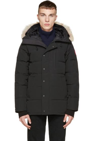Canada Goose - Black Down & Fur Black Label Carson Parka