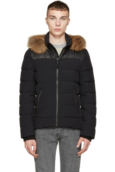 Mackage - Black Lightweight Lux Ronin Coat