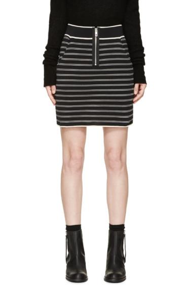 Rag & Bone - Black & White Regan Skirt