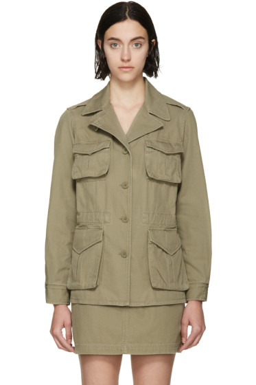 Marc by Marc Jacobs - Safari Green Greenwhich Jacket