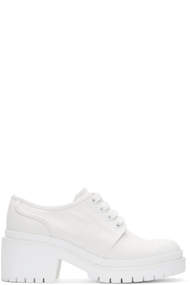 Marc by Marc Jacobs - Off-White Heeled Sneakers
