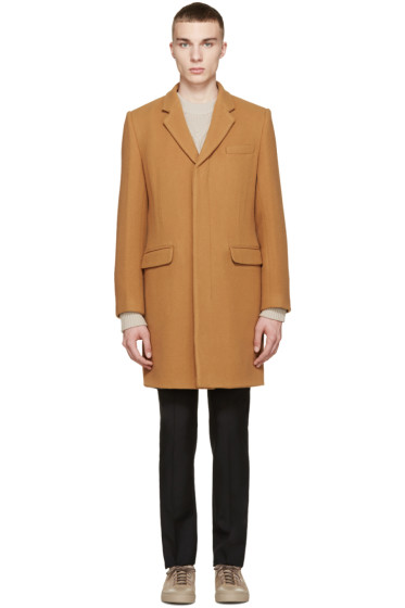 Marc by Marc Jacobs - Camel Wool Toby Coat