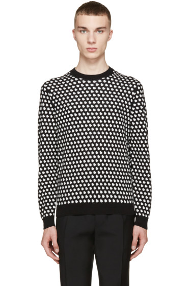 Marc by Marc Jacobs - Black & White Jacquard Knit Sweater