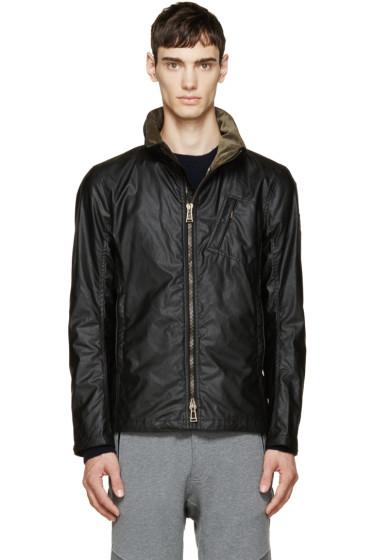 Belstaff - Black Waxed Cotton Citymaster Jacket