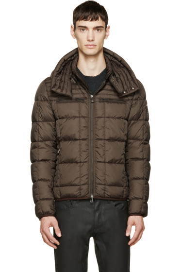 Belstaff - Green Quilted Down Fairsted Jacket