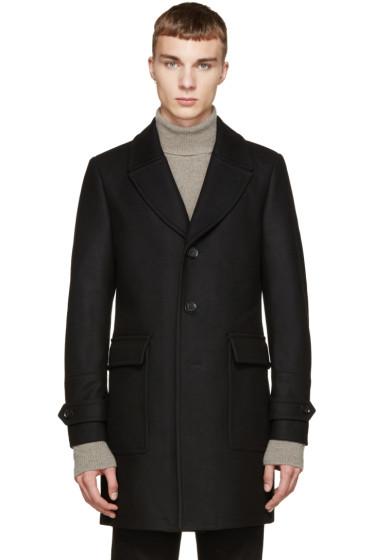 Belstaff - Black Melton Bosbury Coat