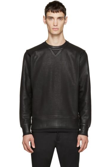 Diesel Black Gold - Black Coated Saetta Sweatshirt