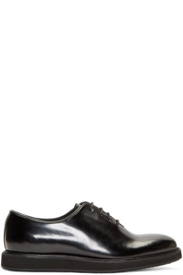 Tiger of Sweden - Black Leather Charly Oxfords