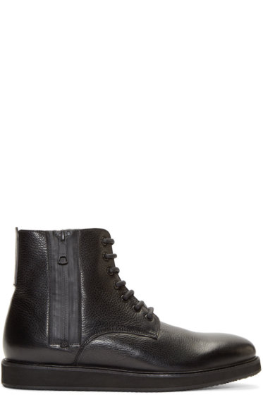 Tiger of Sweden - Black Leather Charly Boots