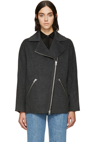 Acne Studios - Grey Wool Envier Coat