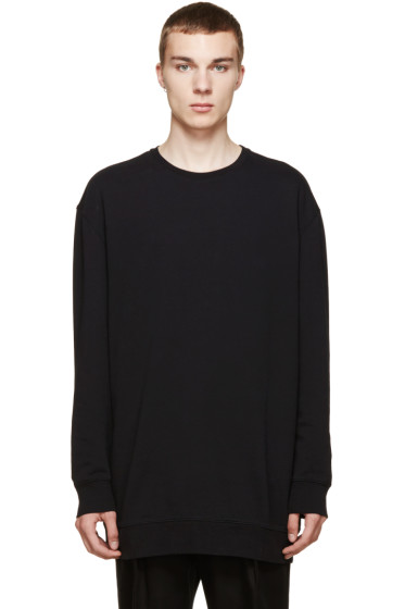 Acne Studios - Black Oversized Sweatshirt