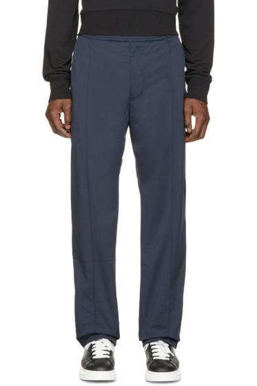Acne Studios - Navy Fleece Frede Lounge Pants