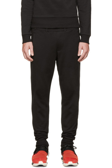 Y-3 - Black Lounge Pants