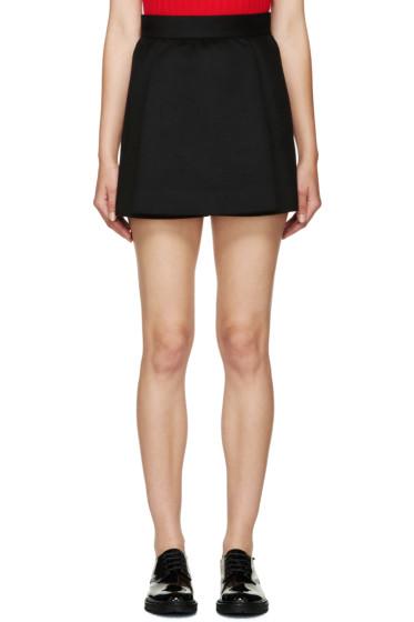 Dsquared2 - Black Felt Tula Skirt