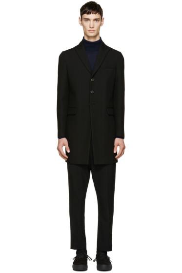 Dsquared2 - Black Wool Coat