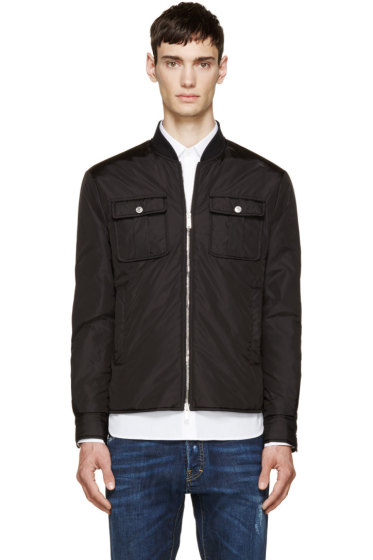 Dsquared2 - Black Puffer Shirt Jacket