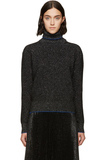 Christopher Kane - Black & Silver Turtleneck