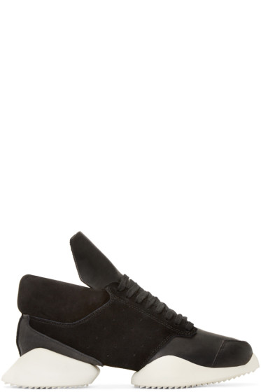 Rick Owens - Black & White Island Sole adidas by Rick Owens Sneakers
