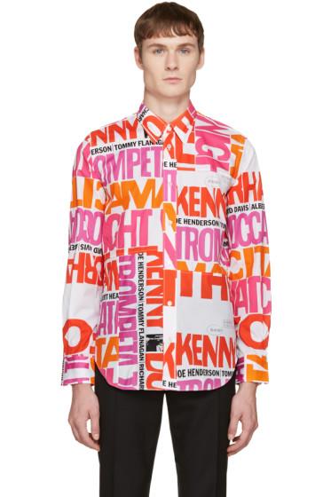 Junya Watanabe - Multicolor Poplin Broad Print Shirt