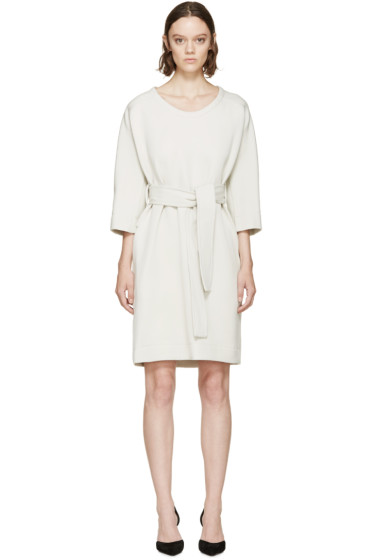 Lanvin - Grey Belted Dress