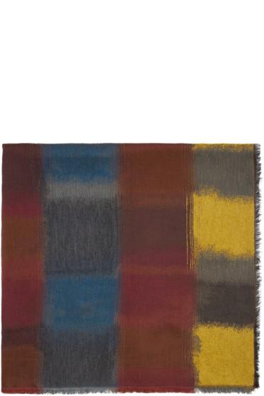 Paul Smith - Multicolored Mainline Scarf