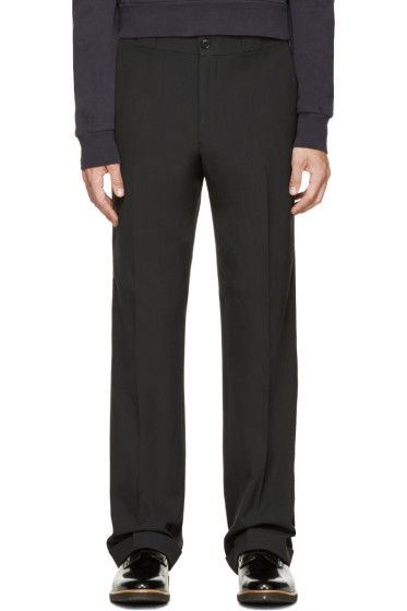 Paul Smith - Grey Straight Leg Trousers