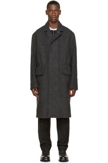 3.1 Phillip Lim - Grey Felted Wool Coat