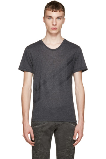 Pierre Balmain - Grey Chevron Shirt