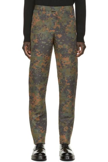 Burberry Prorsum - Camo Print Trousers