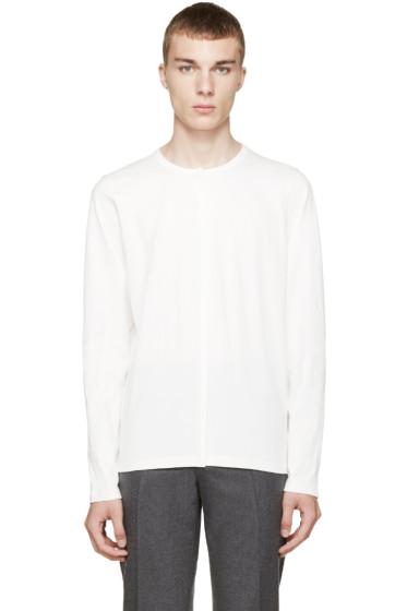 Marni - Ivory Hem Detail T-Shirt