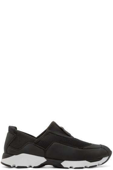 Marni - Black Slip-On Sneakers