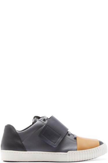 Marni - Grey & Black Velcro Sneakers