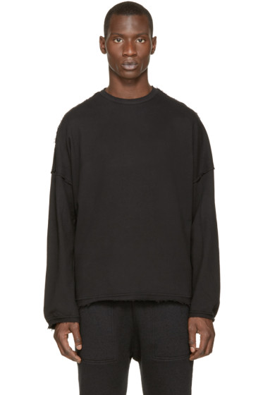 Silent by Damir Doma - Black Terry Soter Sweatshirt