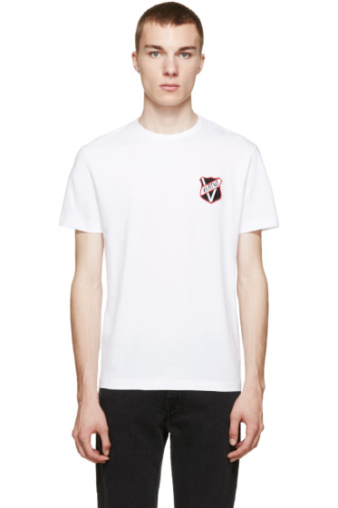 Versus - White Logo Patch T-Shirt