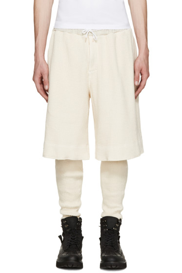 Sasquatchfabrix - Cream Layered Lounge Pants