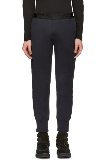 Undercover - Navy & Black Cuffed Lounge Pants